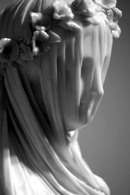 The Veiled Vestal Virgin - Raffaele Monti, 1847