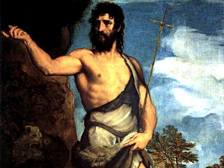 San Giovanni Battista |Tiziano Vecellio
