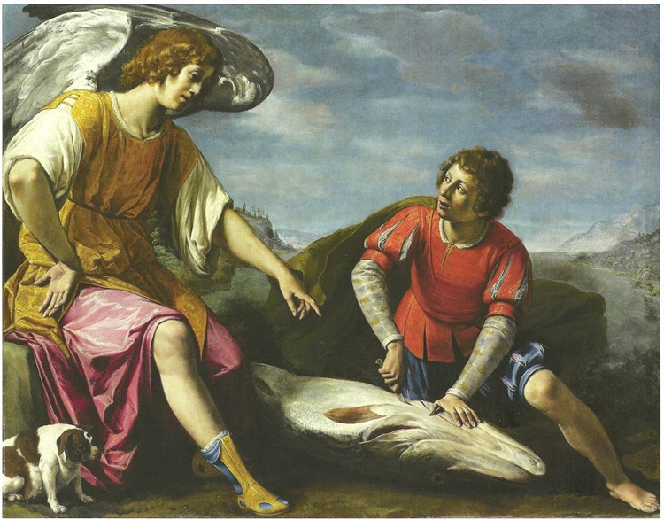 Tobiolo e l'Angelo. Filippo Tarchiani