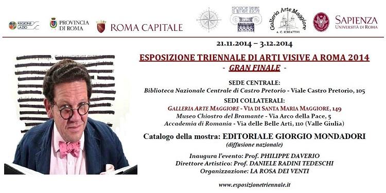 Triennale Roma 2014 Gran Finale - GalleriaArteMaggiore