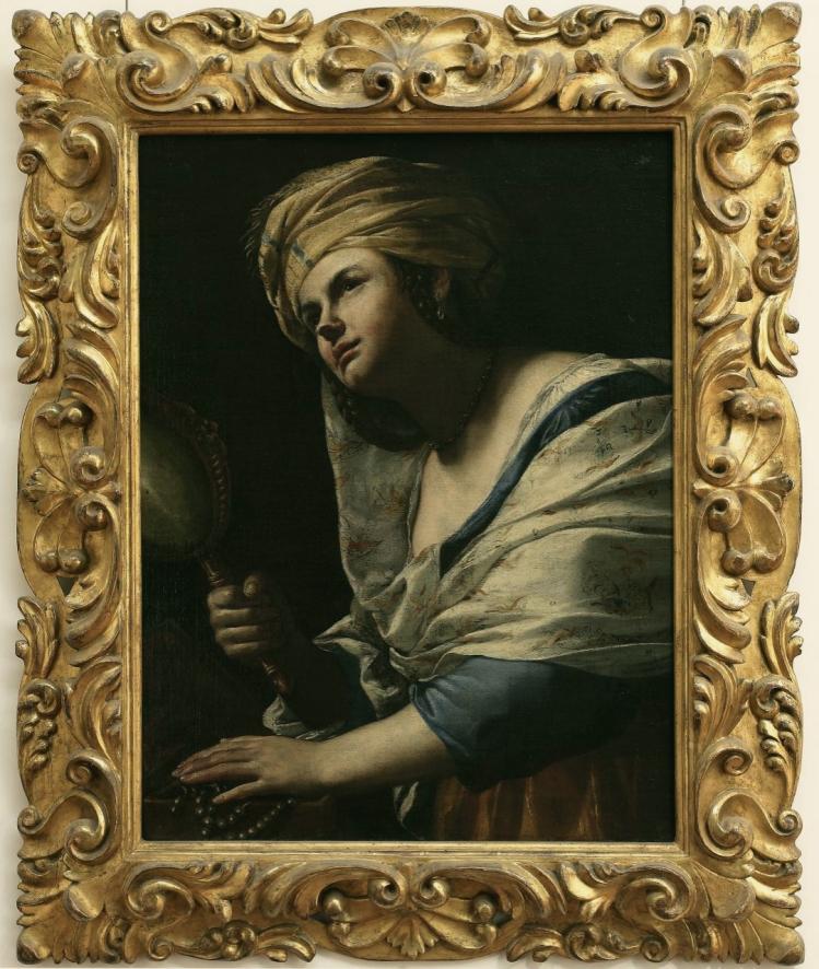 Mattia Preti, Vanità. Galleria degli Uffizi.