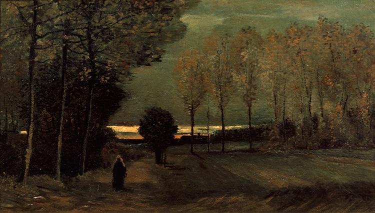 "Van Gogh ""Autunno, paesaggio al crepuscolo"", 1885 - Utrecht, Centraal Museum"