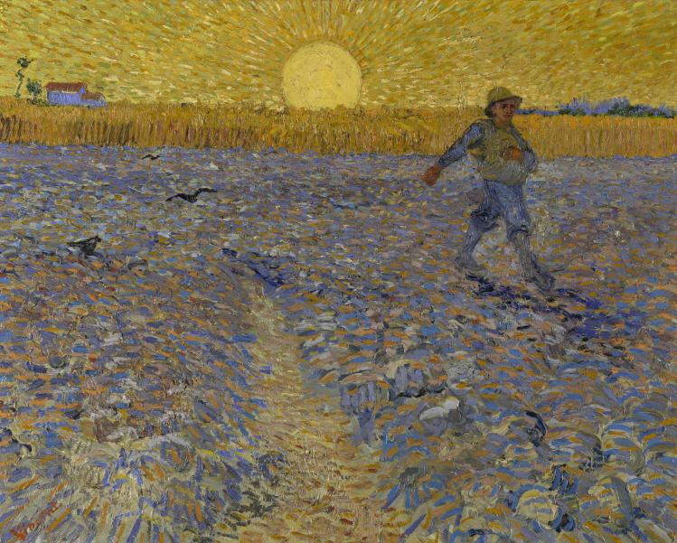 Il seminatore | Vincent Van Gogh | post Impressionismo