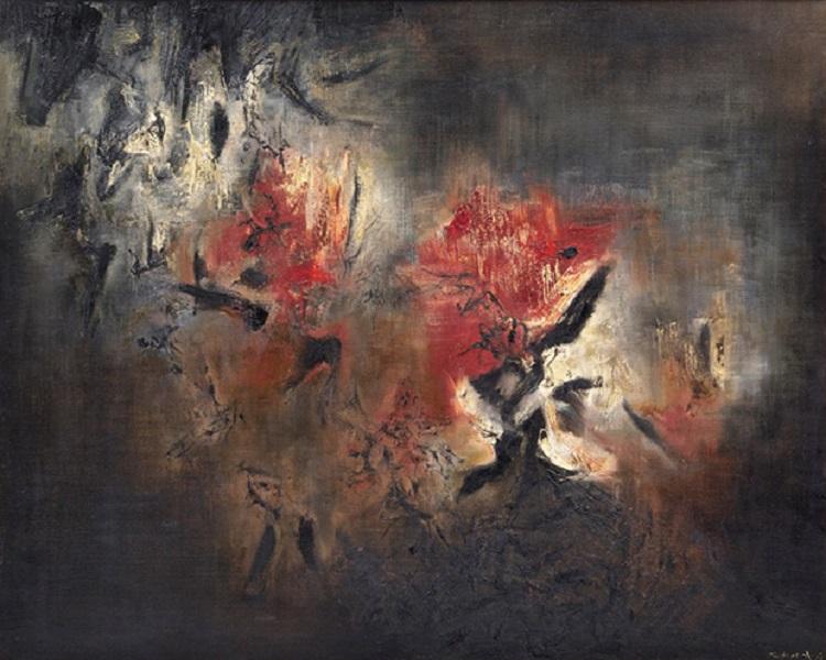 Zao-Wou-Ki-Abstraction
