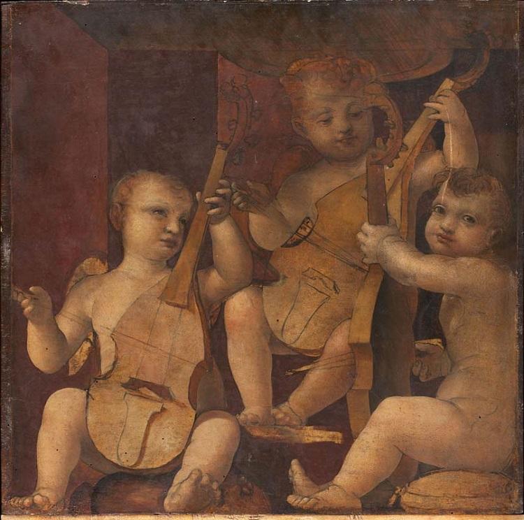 Zenale, Angeli suonatori di viola da gamba