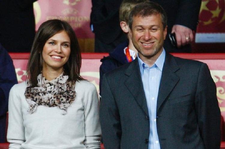 Roman Abramovich e Dasha Zhukova