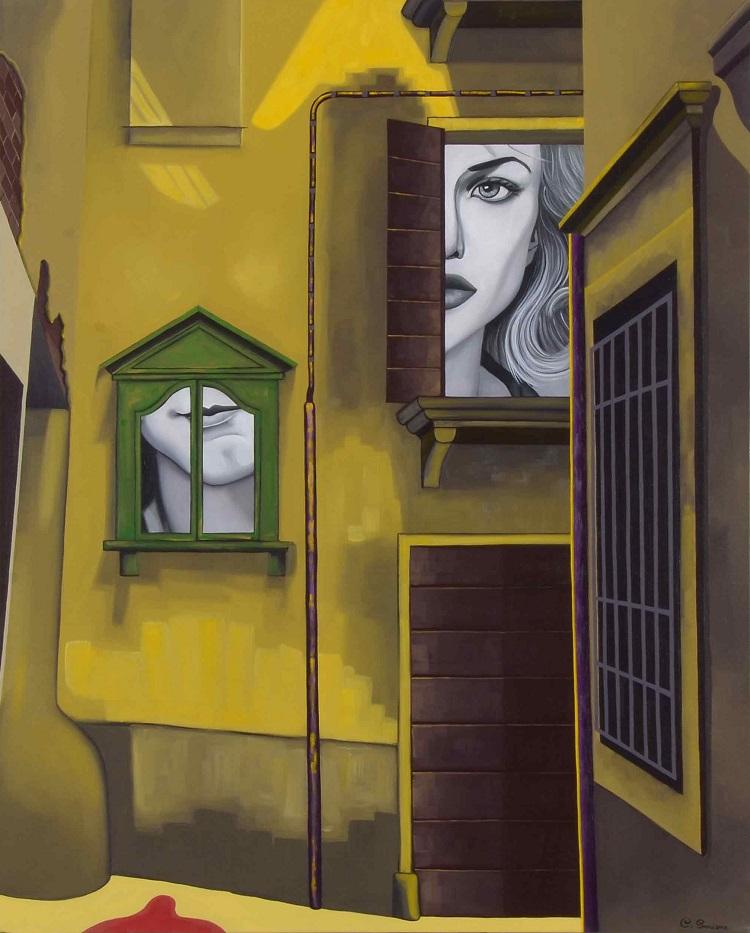 chiara_smirne,_vicolo_KC,_acrilic_on_canvas,_100_x_80,_2012.