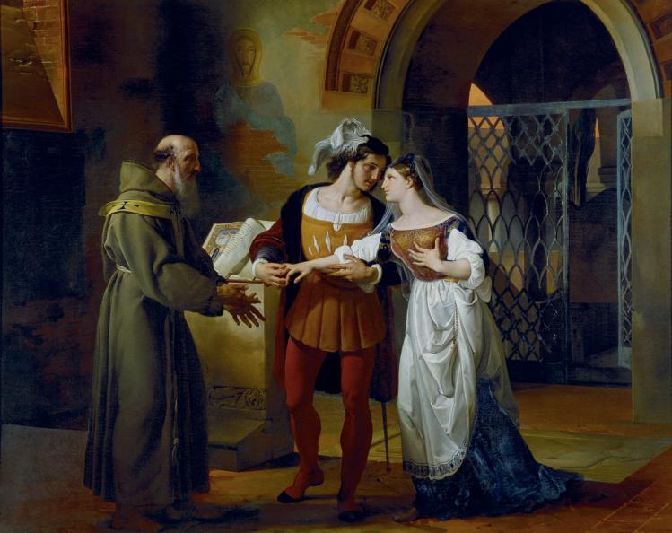Romeo e Giulietta |Francesco Hayez | mostre Milano