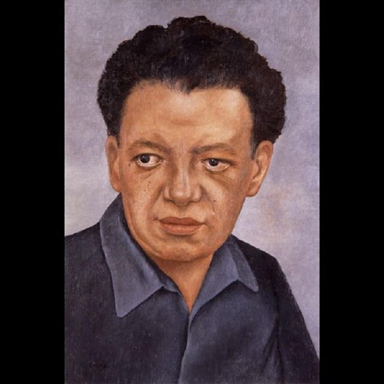 Ritratto di Diego Rivera, 1937. © The Vergel Foundation, Collezione Jacques and Natasha Gelman, Città del Messico, by SIAE 2014