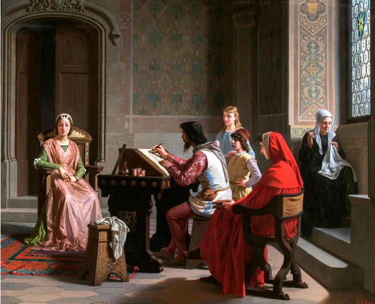 Ritratto Laura su incarico di Petrarca| Firenze capitale | mostre Firenze