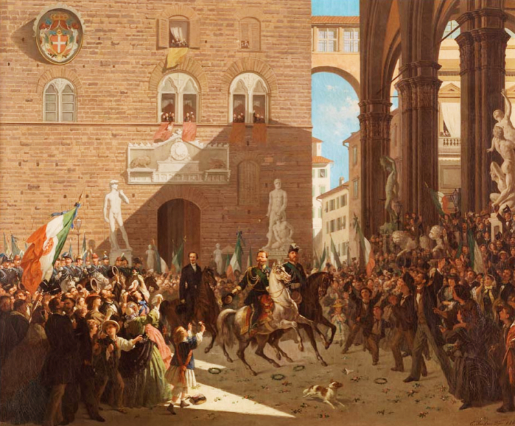 Vittorio Emanuele II | Firenze capitale | mostre Firenze