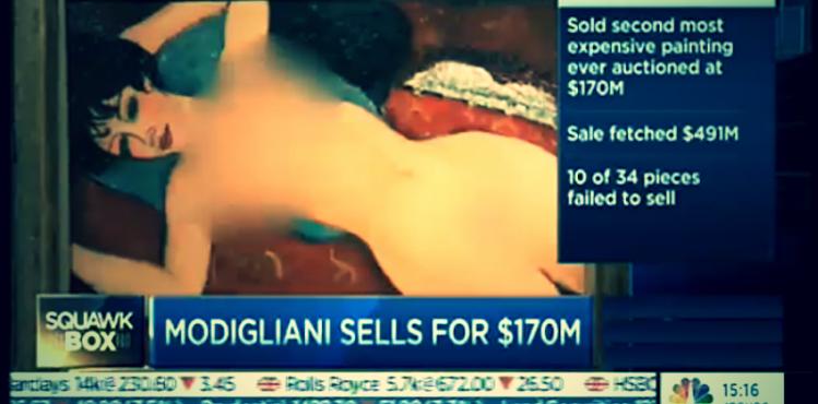 Nudo Rosso | Amedeo Modigliani | Bloomberg