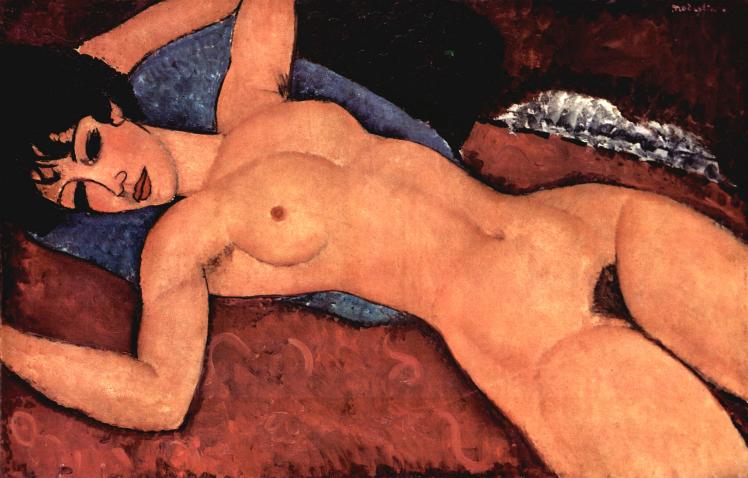 Nudo Rosso | Amedeo Modigliani