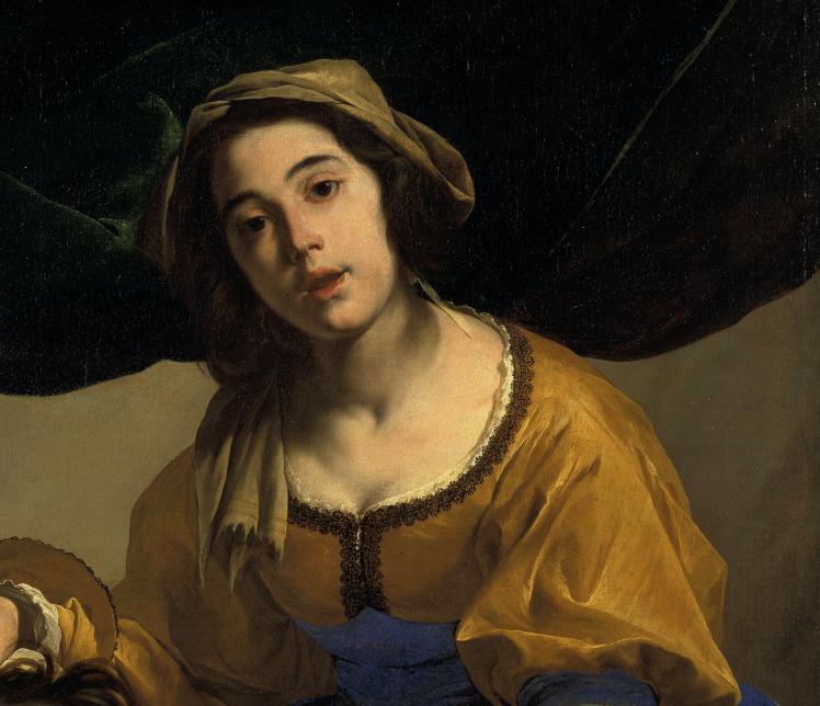 Bernardo Cavallino, Judith avec la tète d' Holopherne, vers 1650, huile sur toile, 118 x 94 cm, Stockholm, Nationalmuseum, Photo © Nationalmuseum, Stockholm