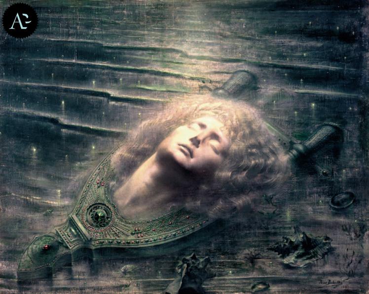 Death of Orpheus | Jean Delville