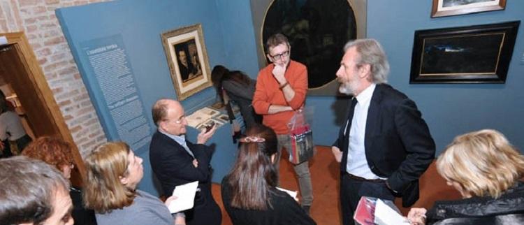 Il curatore Giandomenico Romanelli presenta la mostra
