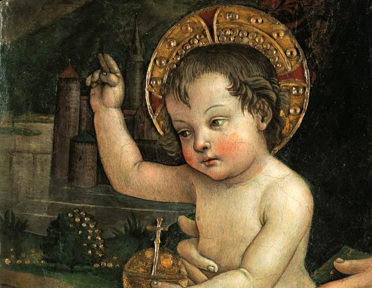 Bambin Gesù delle Mani | Pinturicchio